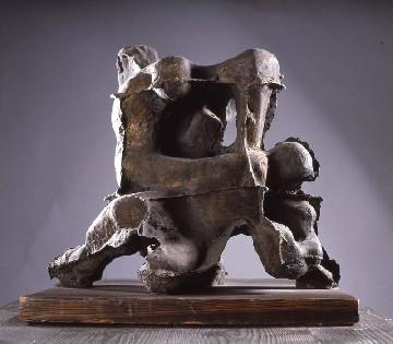 Francesco Somaini - Lotta con l'angelo - 1951 Bronzo