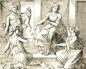 Salomone e il figlio conteso